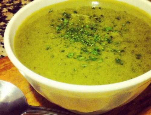 Light and Green Soup
