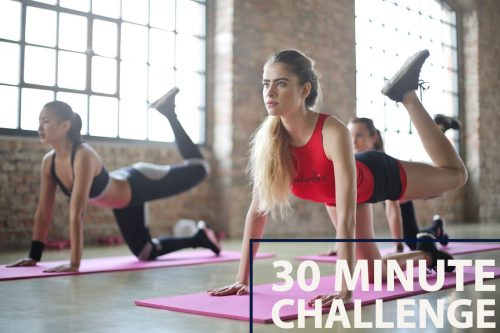 30 Minute no equipment challenge