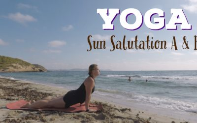 Sun Salutation A and B: Yoga Sun Salutations