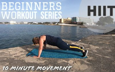 Beginners HIIT Workout: A Quick 10 Minute Blast