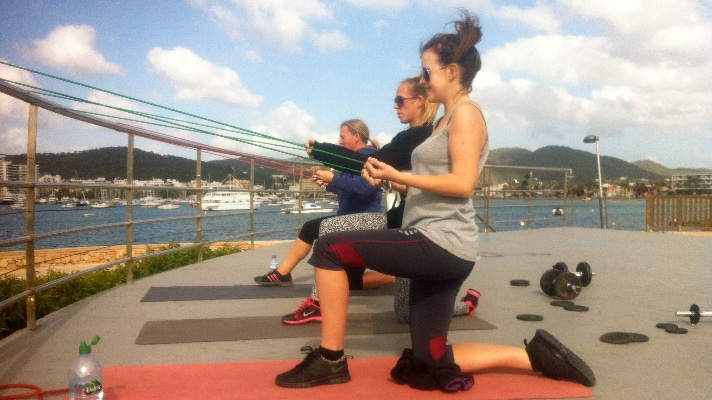 Fitness in San Antonio Ibiza