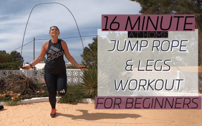 Jump Rope and Legs Workout: 16 Minute Blast