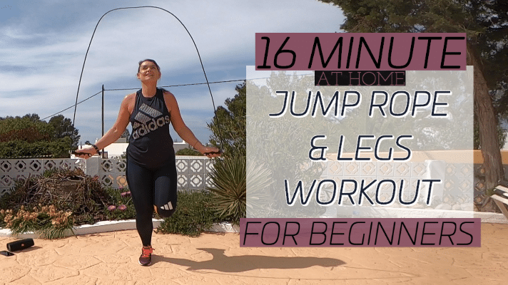 Jump rope and legs workout